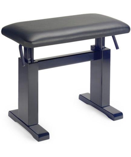 油壓鋼琴椅 真皮(黑) PBH 780 BKM LBK