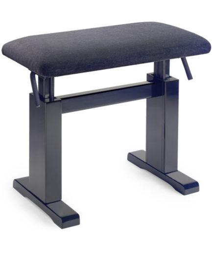 油壓鋼琴椅 絨布(黑) PBH 780 BKM VBK