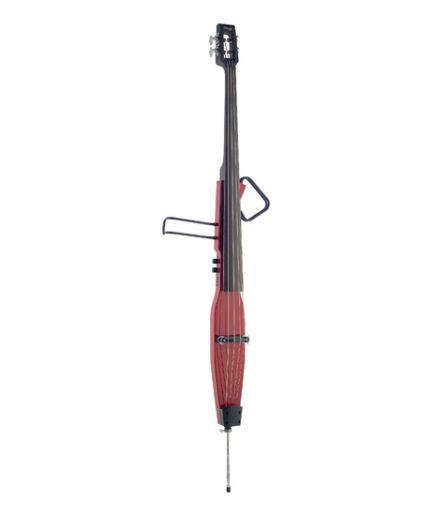 進階靜音 低音提琴 (紅色) EDB-3/4RDL TR