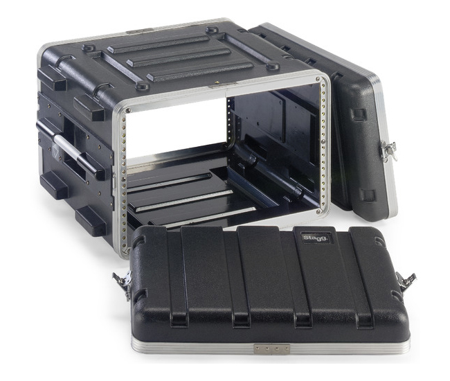 6U 硬盒手提機櫃 ABS-6U