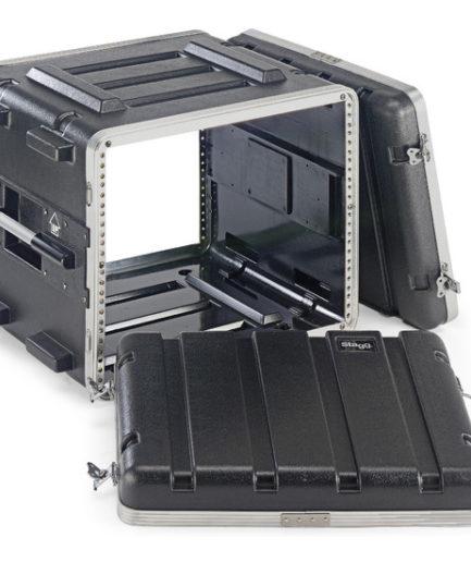 8U 硬盒手提機櫃 ABS-8U