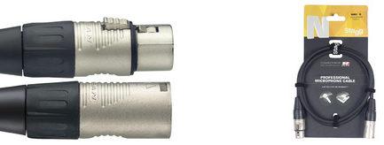 N系列 6M 麥克風線 (XLRf-XLRm)